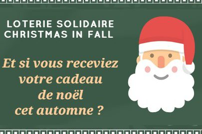 grace bailhache loterie solidaire christmas fall noel automne