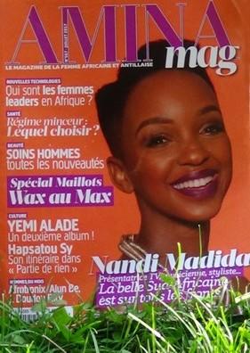 magazine amina kiosque juillet grace bailhache