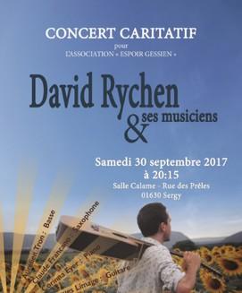 grace bailhache david rychen concert caritatif espoir gessien
