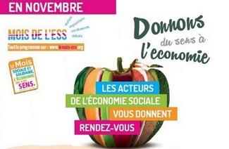 grace bailhache novembre mois economie sociale solidaire lancement