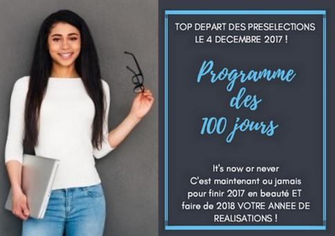 grace bailhache programme 100 jours annonce lancement