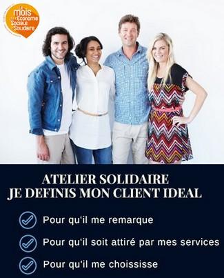 grace bailhache tournee solidaire atelier client ideal