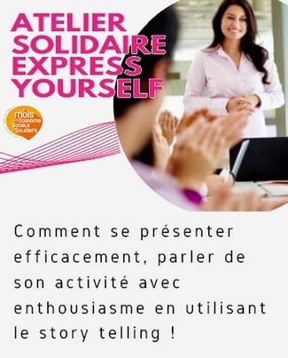 grace bailhache tournee solidaire atelier presentation storytelling