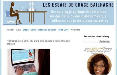 grace bailhache blog essais retrospecive nouveau design